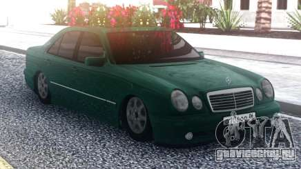 Mercedes-Benz E55 Green Sedan для GTA San Andreas
