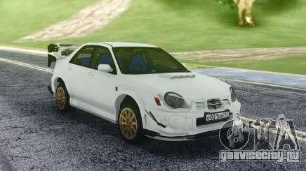 Subaru WRX STI Sedan для GTA San Andreas
