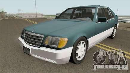Mercedes-Benz S-Class (W140) 300SD 1992 US-Spec для GTA San Andreas