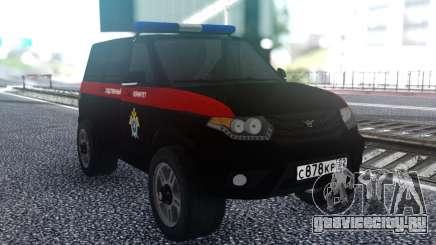 УАЗ Патриот ФСБ для GTA San Andreas