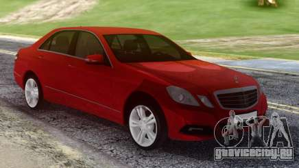 Mercedes-Benz E500 W212 Red для GTA San Andreas