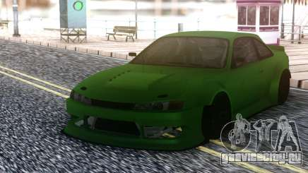Nissan 200SX S14 Custom Wide для GTA San Andreas