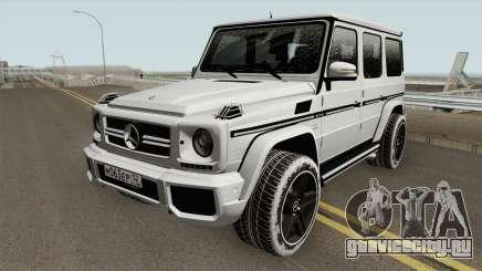 Mercedes-Benz G65 AMG High Quality для GTA San Andreas