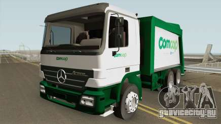 Mercedes-Benz Actros Trash Prefeitura de Florian для GTA San Andreas