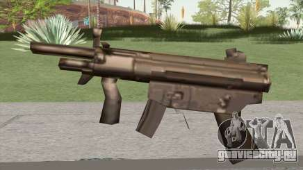 MP5 From GTA Vice City LQ для GTA San Andreas