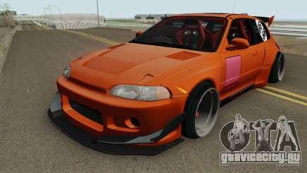 Honda Civic EG6 Pandem для GTA San Andreas