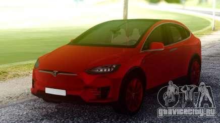 Tesla Model X Red для GTA San Andreas