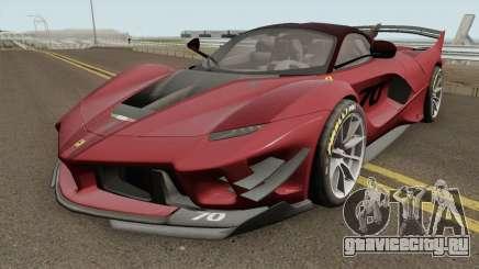 Ferrari FXX-K Evo 2018 для GTA San Andreas