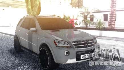 Mercedes-Benz ML 63 AMG Stock для GTA San Andreas