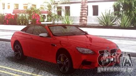 BMW M6 F12 Cabrio для GTA San Andreas