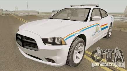 Dodge Charger 2013 SASP RCMP для GTA San Andreas