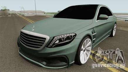 Mercedes-Benz S-Class W222 WALD Black Bison для GTA San Andreas