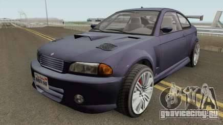 Ubermacht Sentinel Custom GTA V IVF для GTA San Andreas