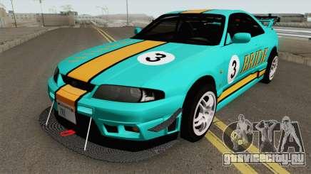 Nissan Skyline GT-R R33 1996 для GTA San Andreas