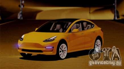 Tesla Model 3 для GTA San Andreas