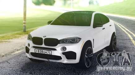 BMW X6M White для GTA San Andreas