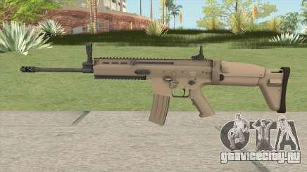 SCAR-L HQ для GTA San Andreas