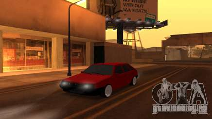 ВАЗ 2109 Вишневый для GTA San Andreas