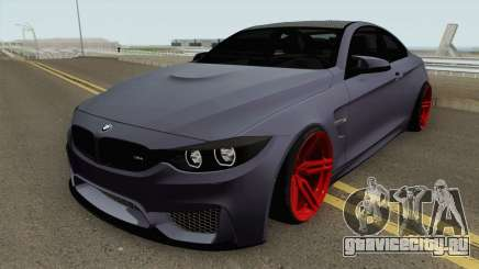 BMW M4 2014 SlowDesign (Red Wheels) для GTA San Andreas
