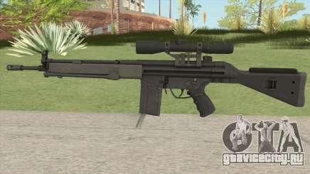 G3SG1 HQ для GTA San Andreas