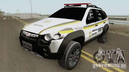 Fiat Palio Weekend Locker Patamo V2 для GTA San Andreas