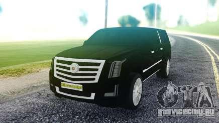 Cadillac Escalade Pure Black для GTA San Andreas