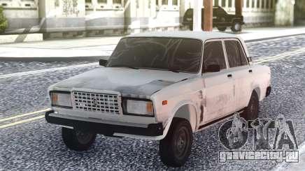 ВАЗ 2107 Мятый для GTA San Andreas