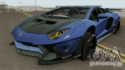Lamborghini Aventador Liberty Walk для GTA San Andreas