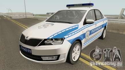 Skoda Rapid Policija для GTA San Andreas