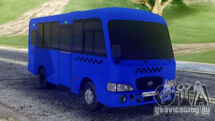 Hyundai County SWB Bus для GTA San Andreas