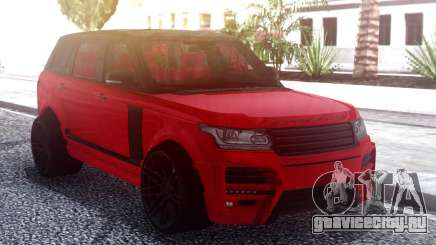 Range Rover Vogue L405 Startech Red для GTA San Andreas