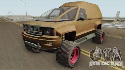 Declasse Brutus Stock GTA V для GTA San Andreas
