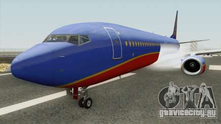 Boeing 737-800 Southwest Airlines (Canyon Blue) для GTA San Andreas
