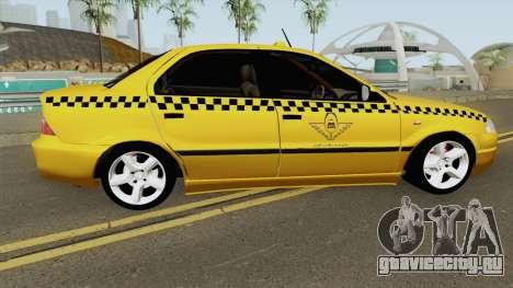 IKCO Samand Soren Taxi для GTA San Andreas