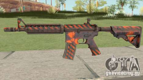 CS-GO M4A4 Radiation Hazard для GTA San Andreas
