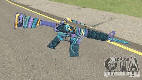 CS:GO M4A1 (Mobius Skin) для GTA San Andreas