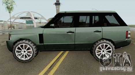 Land Rover Range Rover 2009 (SA Style) для GTA San Andreas