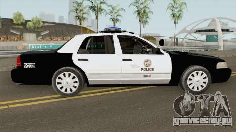 Ford Crown Victoria Police Interceptor LAPD 2011 для GTA San Andreas