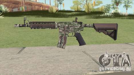 CS-GO M4A4 Jungle Tiger для GTA San Andreas