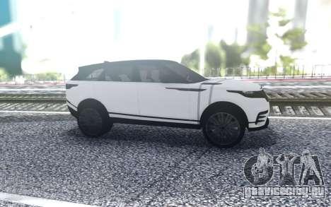 Range Rover Velar для GTA San Andreas