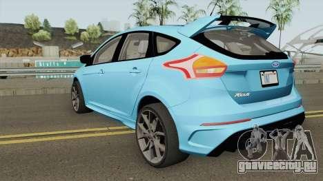 Ford Focus RS 2017 для GTA San Andreas