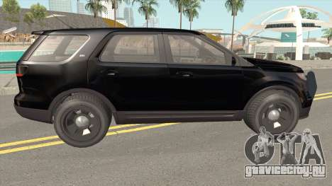 Vapid Police Cruiser Unmarked GTA V для GTA San Andreas