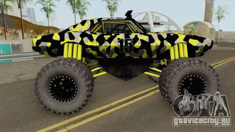 Pontiac Firebird Monster Truck Camo 1968 для GTA San Andreas