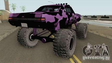 Pontiac GTO Monster Truck Camo 1965 для GTA San Andreas