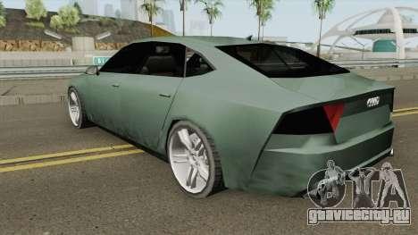 Audi A7 (SA Style) для GTA San Andreas