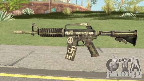 CS:GO M4A1 (Flashback Skin) для GTA San Andreas