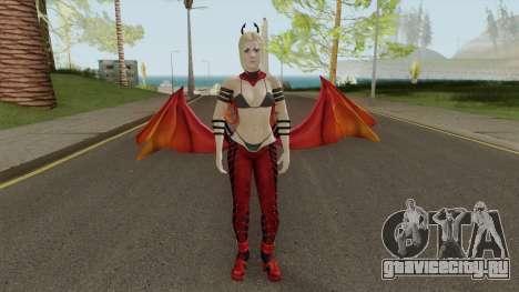 Supergirl Fury Outfit для GTA San Andreas