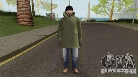 Skin Random 154 (Winter Outfit) для GTA San Andreas