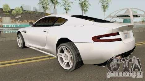 Aston Martin DB9 Low Poly для GTA San Andreas
