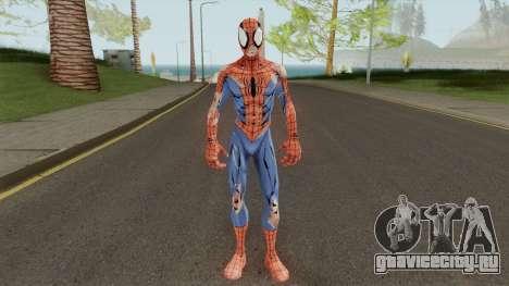 Spider-Man Unlimited - Spider-Man Battle Damage для GTA San Andreas
